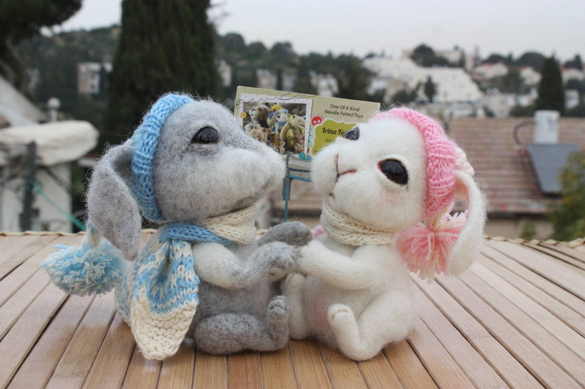 07.07.17 – סדנת ליבוד צעצוע: ארנב, רמת גן