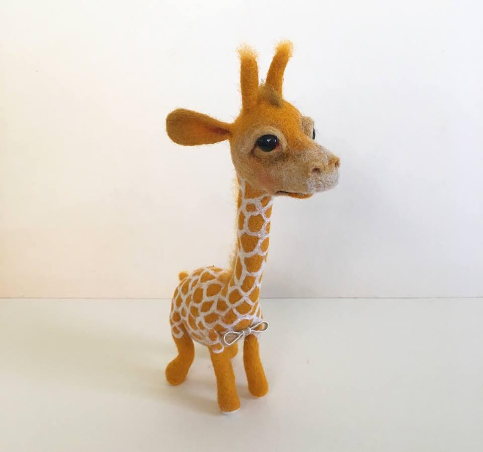 08.09.17 – סדנת ליבוד צעצוע: ג'ירפה, חיפה