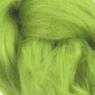 סיבי משי טוסה. ירוק בהיר