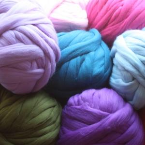 Мериносовая одноцветная шерсть Fine