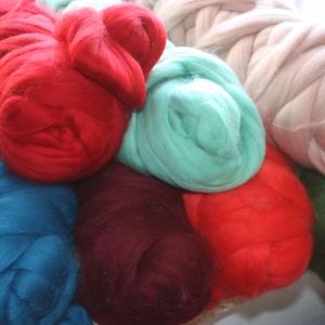 Мериносовая oдноцветная шерсть Extra Fine
