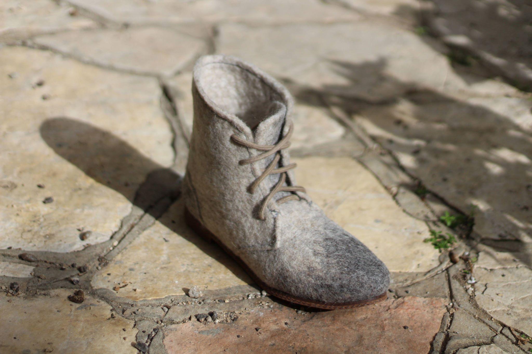 23.02.18 — Мастер-класс по валянию высоких тапок, ботиночек